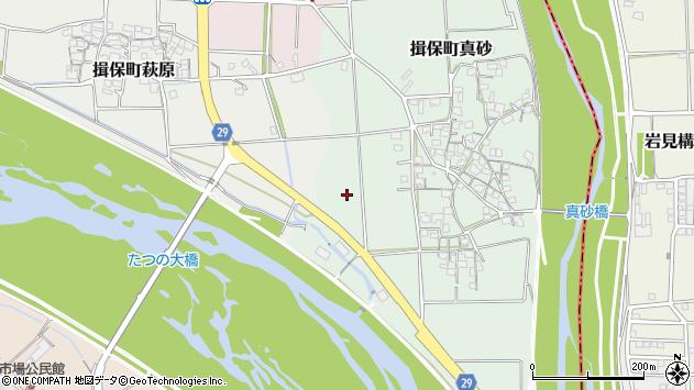 〒679-4144 兵庫県たつの市揖保町真砂の地図