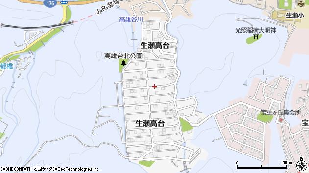 〒669-1111 兵庫県西宮市生瀬高台の地図