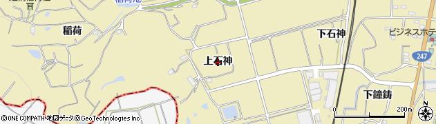 愛知県武豊町(知多郡)冨貴(上石神)周辺の地図