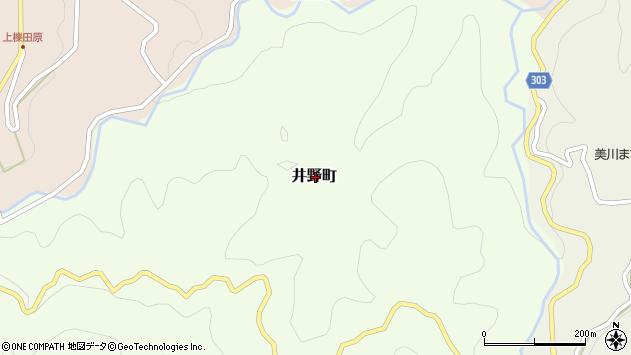 〒697-1335 島根県浜田市井野町の地図