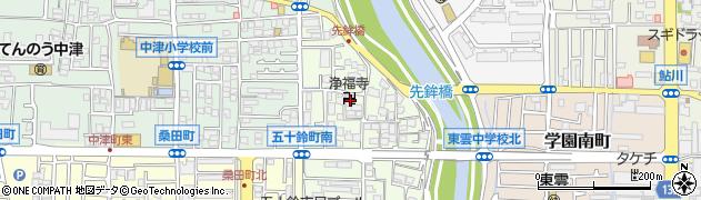 浄福寺周辺の地図