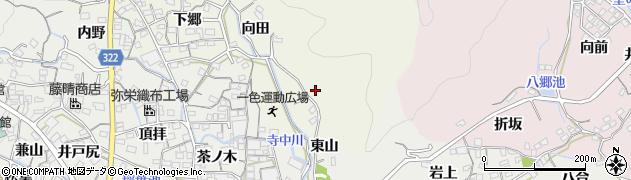 愛知県蒲郡市一色町(源随)周辺の地図