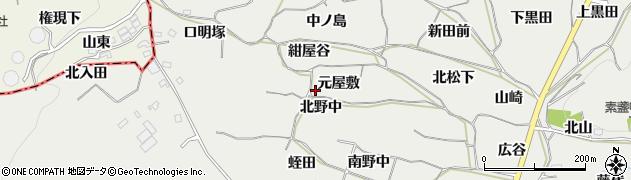 愛知県豊橋市石巻本町(元屋敷)周辺の地図