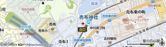 Reiichi周辺の地図