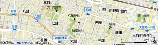 美楽周辺の地図