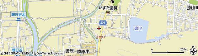 兵庫県姫路市勝原区周辺の地図