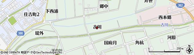 愛知県豊川市三谷原町(古川)周辺の地図