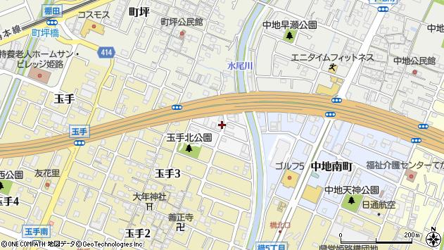 〒670-0989 兵庫県姫路市町坪南町の地図