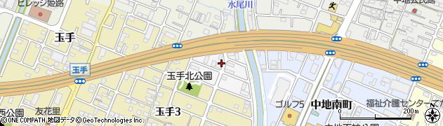 兵庫県姫路市町坪南町周辺の地図