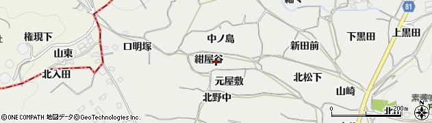 愛知県豊橋市石巻本町(紺屋谷)周辺の地図