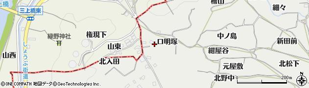 愛知県豊橋市石巻本町(口明塚)周辺の地図