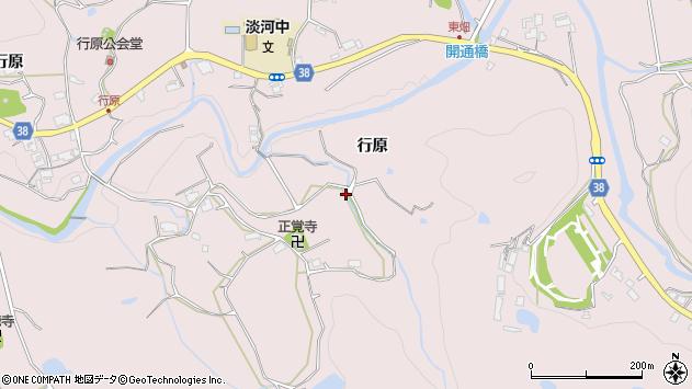 〒651-1613 兵庫県神戸市北区淡河町行原の地図