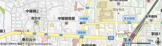 買取専門店大吉 茨木店周辺の地図