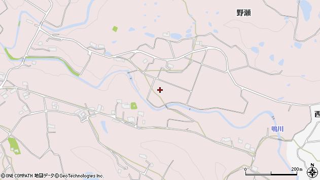 〒651-1623 兵庫県神戸市北区淡河町野瀬の地図