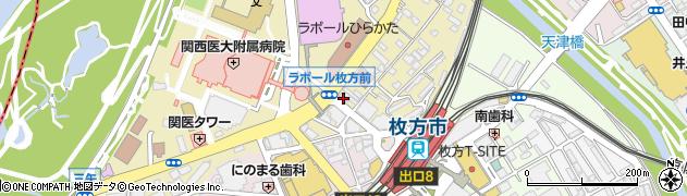 フィットネスワン 枚方店周辺の地図