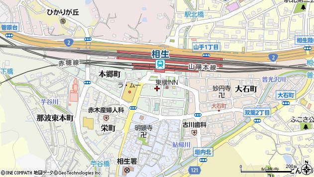 〒678-0006 兵庫県相生市本郷町の地図