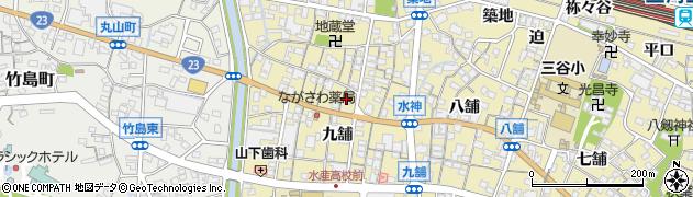 やま六周辺の地図