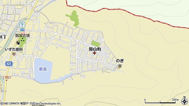 〒671-1202 兵庫県姫路市勝原区勝山町の地図