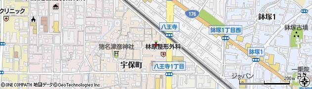 禅成寺周辺の地図