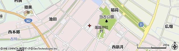 愛知県豊川市当古町(野中)周辺の地図