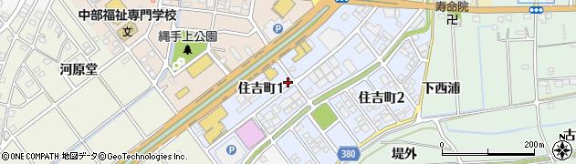 愛知県豊川市三谷原町(井川向)周辺の地図