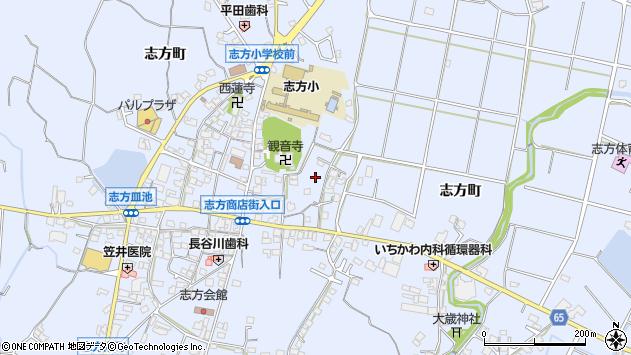 〒675-0321 兵庫県加古川市志方町志方町の地図