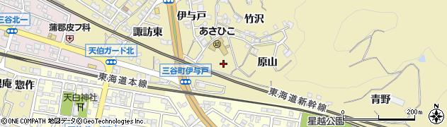 愛知県蒲郡市三谷町(塚前)周辺の地図