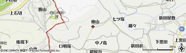 愛知県豊橋市石巻本町(檜山)周辺の地図