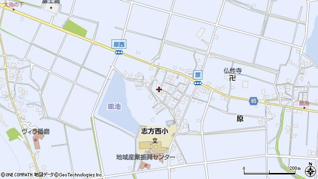 〒675-0335 兵庫県加古川市志方町原の地図