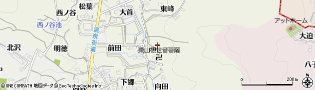 愛知県蒲郡市一色町(徳林)周辺の地図