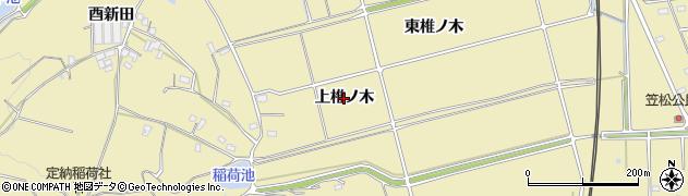 愛知県武豊町(知多郡)冨貴(上椎ノ木)周辺の地図