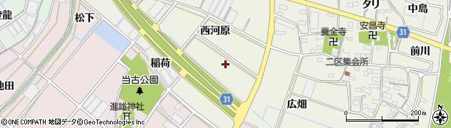 愛知県豊川市三上町(六婆久)周辺の地図