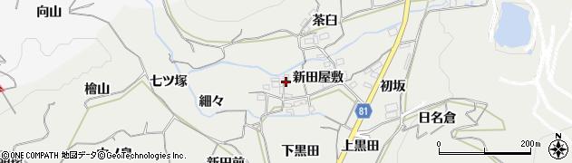 愛知県豊橋市石巻本町(新田屋敷)周辺の地図