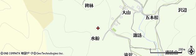 愛知県豊橋市石巻中山町(水船)周辺の地図