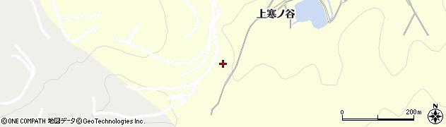 愛知県豊橋市石巻平野町(上寒ノ谷)周辺の地図