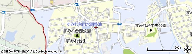 兵庫県西宮市すみれ台周辺の地図