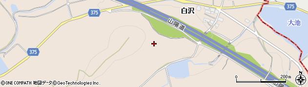 兵庫県加古川市上荘町(白沢)周辺の地図