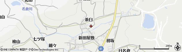 愛知県豊橋市石巻本町(茶臼)周辺の地図