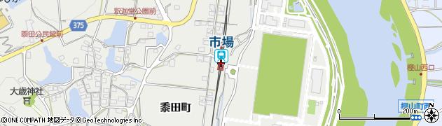 兵庫県小野市周辺の地図