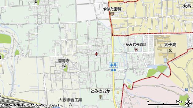 〒671-1532 兵庫県揖保郡太子町糸井の地図