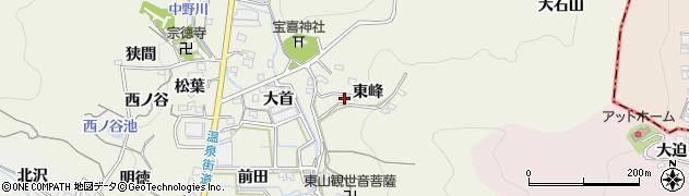 愛知県蒲郡市一色町周辺の地図
