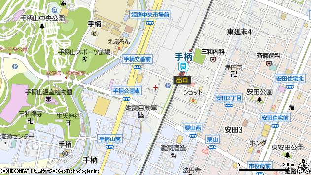 〒670-0965 兵庫県姫路市東延末の地図