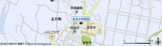 志方小前周辺の地図