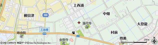 愛知県豊川市三谷原町(宮ノ上)周辺の地図