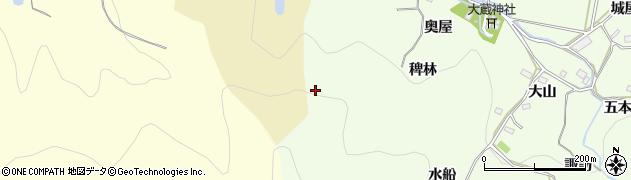 愛知県豊橋市石巻中山町(南山)周辺の地図