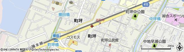 棚田周辺の地図
