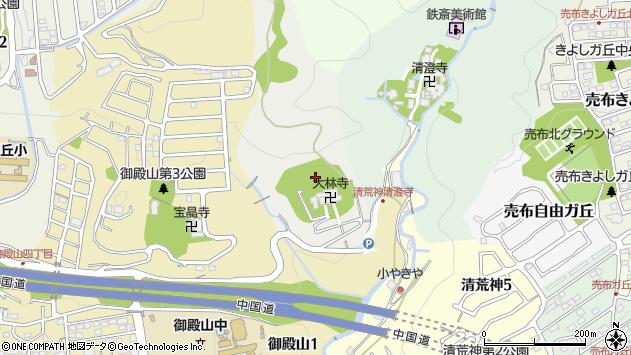 〒665-0808 兵庫県宝塚市切畑(長尾山「その他」)の地図