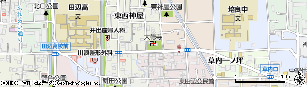 大徳寺周辺の地図