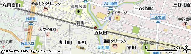 愛知県蒲郡市府相町(暮古)周辺の地図