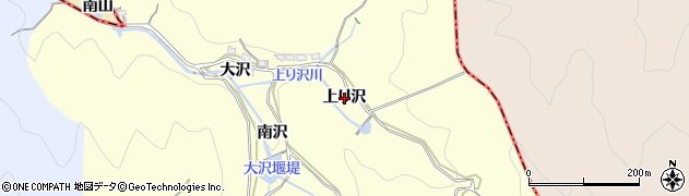 愛知県西尾市東幡豆町(上り沢)周辺の地図